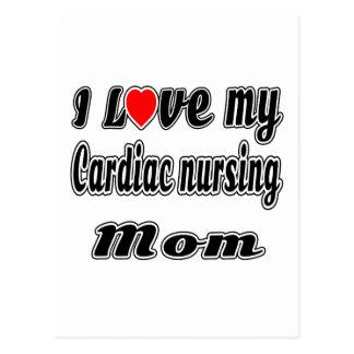 I Love My Cardiac nursing Mom Postcards