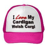 I Love My Cardigan Welsh Corgi Merchandise Trucker Hat