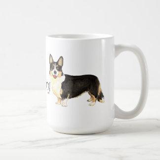 I Love my Cardigan Welsh Corgi Classic White Coffee Mug