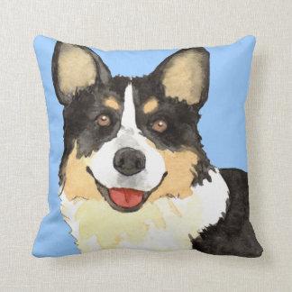 I Love my Cardigan Welsh Corgi Throw Pillow