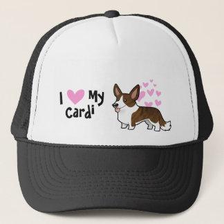 I Love My Cardigan Welsh Corgi Trucker Hat