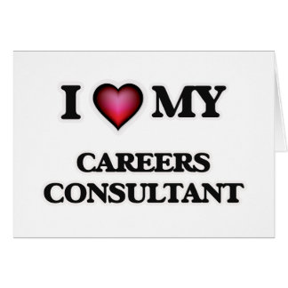 I love my Careers Consultant Card