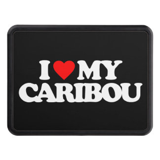 I LOVE MY CARIBOU HITCH COVERS