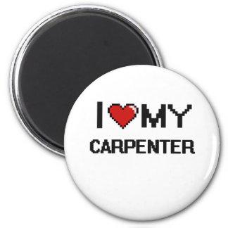 I love my Carpenter 2 Inch Round Magnet