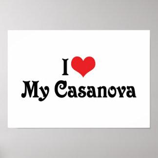 I Love My Casanova Poster