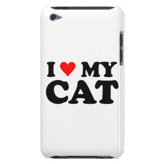 I Love My Cat Barely There iPod Cover
