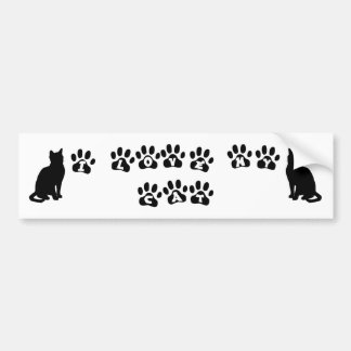 I Love My Cat--Black Text Bumper Sticker