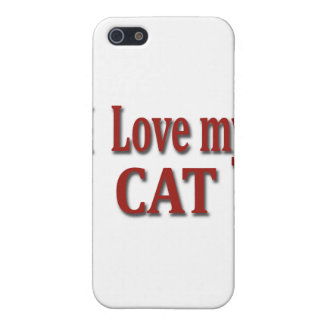 I Love my Cat Case For iPhone SE/5/5s
