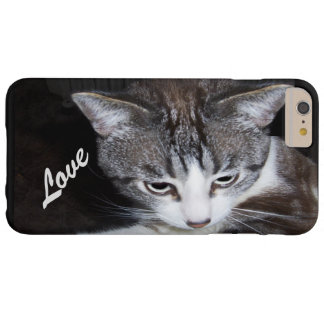 I love my cat funda para iPhone 6 plus barely there