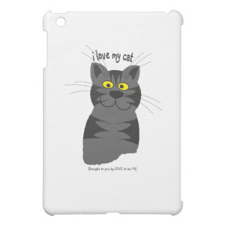 I LOVE MY CAT - LOVE TO BE ME iPad MINI CASE