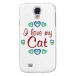 I Love My Cat Samsung Galaxy S4 Case
