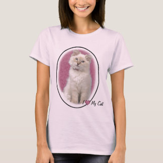I love My Cat t shirt