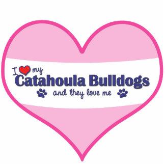 I Love My Catahoula Bulldogs (Multiple Dogs) Photo Cutout