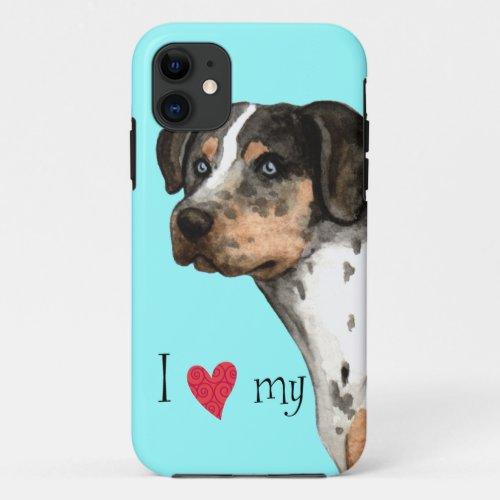 I Love my Catahoula Phone Case