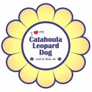 I Love My Catahoula Leopard Dog (Male Dog) Photo Cutout