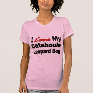 I Love My Catahoula Leopard Dog Merchandise T-Shirt