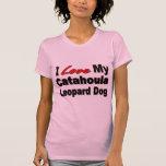 I Love My Catahoula Leopard Dog Merchandise Tees
