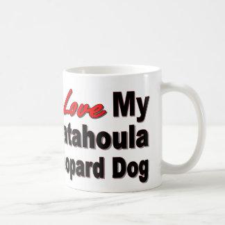 I Love My Catahoula Leopard Dog Classic White Coffee Mug