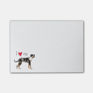 I Love my Catahoula Leopard Dog Post-it® Notes
