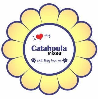 I Love My Catahoula Mixes (Multiple Dogs) Photo Cutout