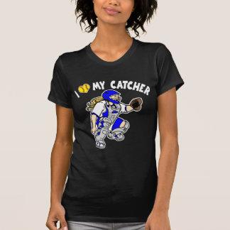 I Love My Catcher, blue2 T-Shirt