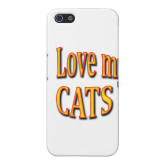 I Love my Cats Cover For iPhone SE/5/5s