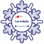I Love My Cav-A-Malts (Multiple Dogs) Photo Cutout