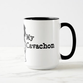 I Love My Cavachon Mug