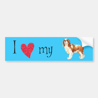 I Love my Cavalier Car Bumper Sticker