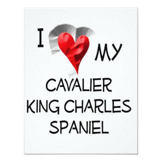 I Love My Cavalier King Charles Spaniel Card