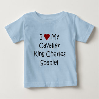 I Love My Cavalier King Charles Spaniel Dog Gifts Infant T-shirt
