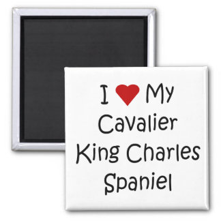 I Love My Cavalier King Charles Spaniel Dog Gifts Magnet