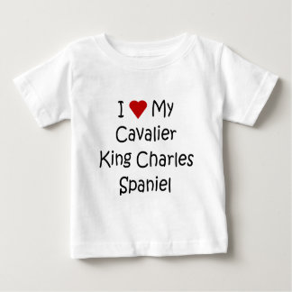 I Love My Cavalier King Charles Spaniel Dog Gifts T Shirts