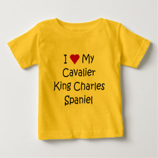 I Love My Cavalier King Charles Spaniel Dog Gifts T-shirts