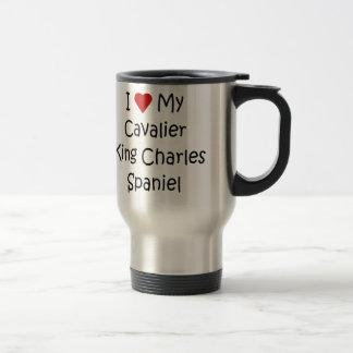 I Love My Cavalier King Charles Spaniel Dog Gifts Travel Mug