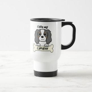 I Love My Cavalier King Charles Spaniel Travel Mug