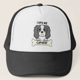 I Love My Cavalier King Charles Spaniel Trucker Hat