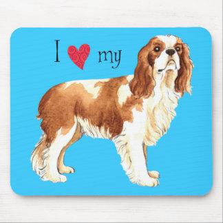 I Love my Cavalier Mouse Pad