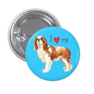 I Love my Cavalier Pinback Button