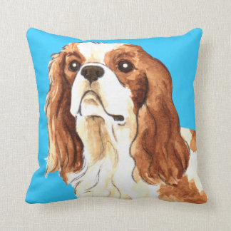 I Love my Cavalier Throw Pillow