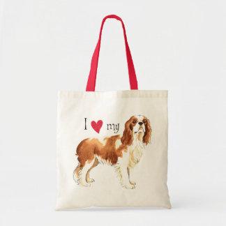 I Love my Cavalier Tote Bag
