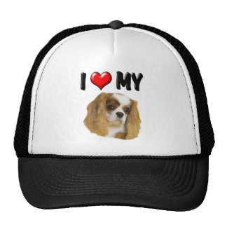 I Love My Cavalier Trucker Hat