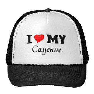 I love my Cayenne Trucker Hat