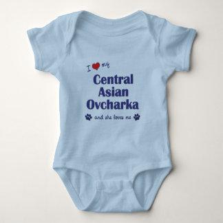 I Love My Central Asian Ovcharka (Female Dog) Shirt
