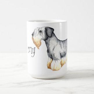 I Love my Cesky Terrier Classic White Coffee Mug