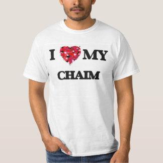 I love my Chaim Shirts