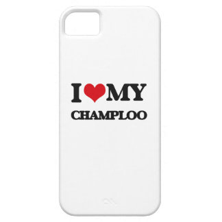I Love My CHAMPLOO iPhone 5 Cases