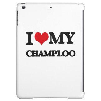 I Love My CHAMPLOO iPad Air Cover