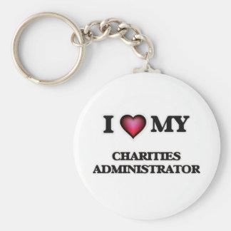 I love my Charities Administrator Keychain