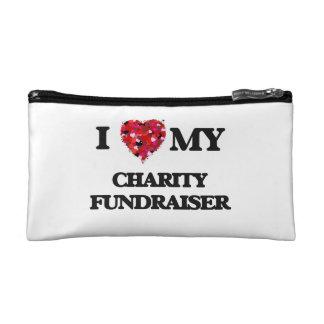 I love my Charity Fundraiser Cosmetics Bags
